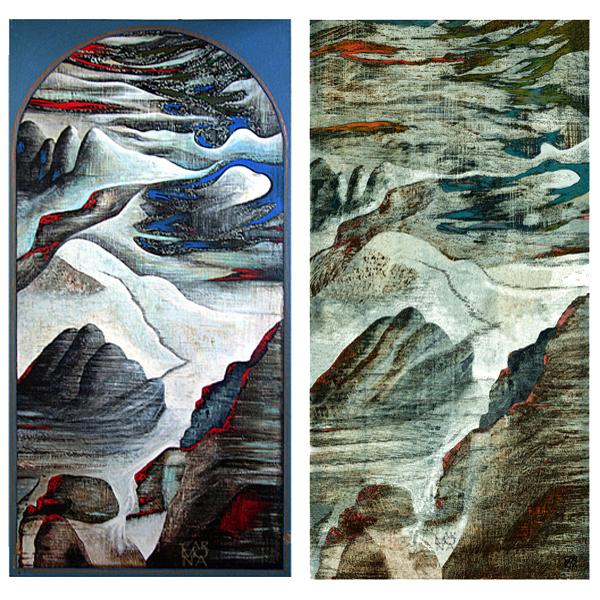 paysage chinois 01 & 02